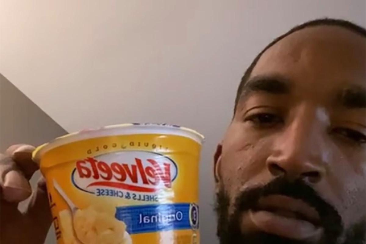 NBA-Spieler geben dem Essen in Disney World einen harten Pass