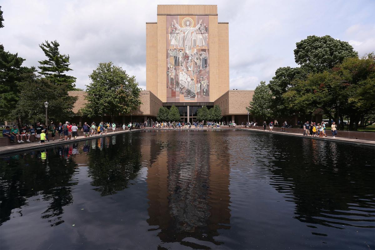 Notre Dame zieht sich von der ersten Trump-Biden-Debatte zurück