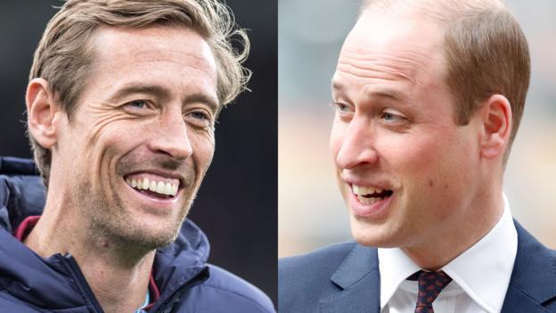 Prinz William trifft Peter Crouch: Herzog von Cambridge über Lockdown, Fußball und psychische Gesundheit