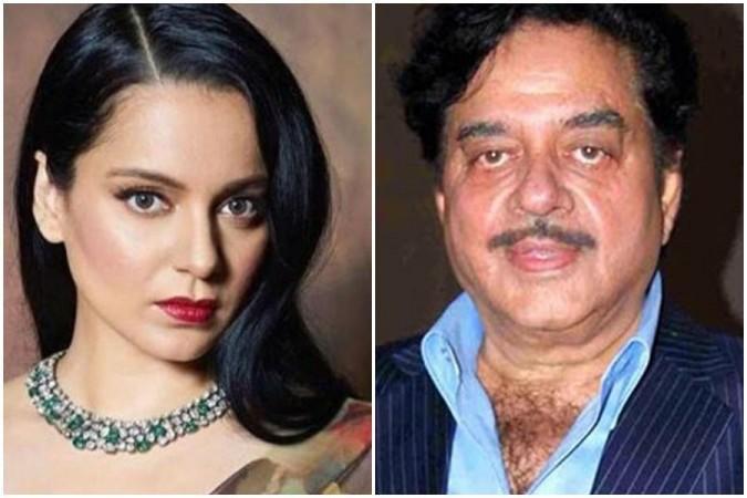 Kangana Ranaut und Shatrughan Sinha