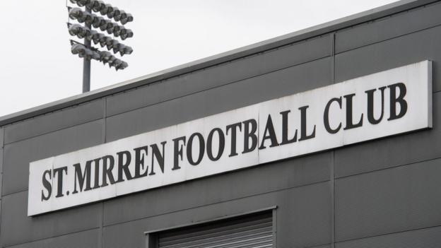 St. Mirren beim Lockdown nach positiven Covid-Tests als Rangers-Gesichtssonde