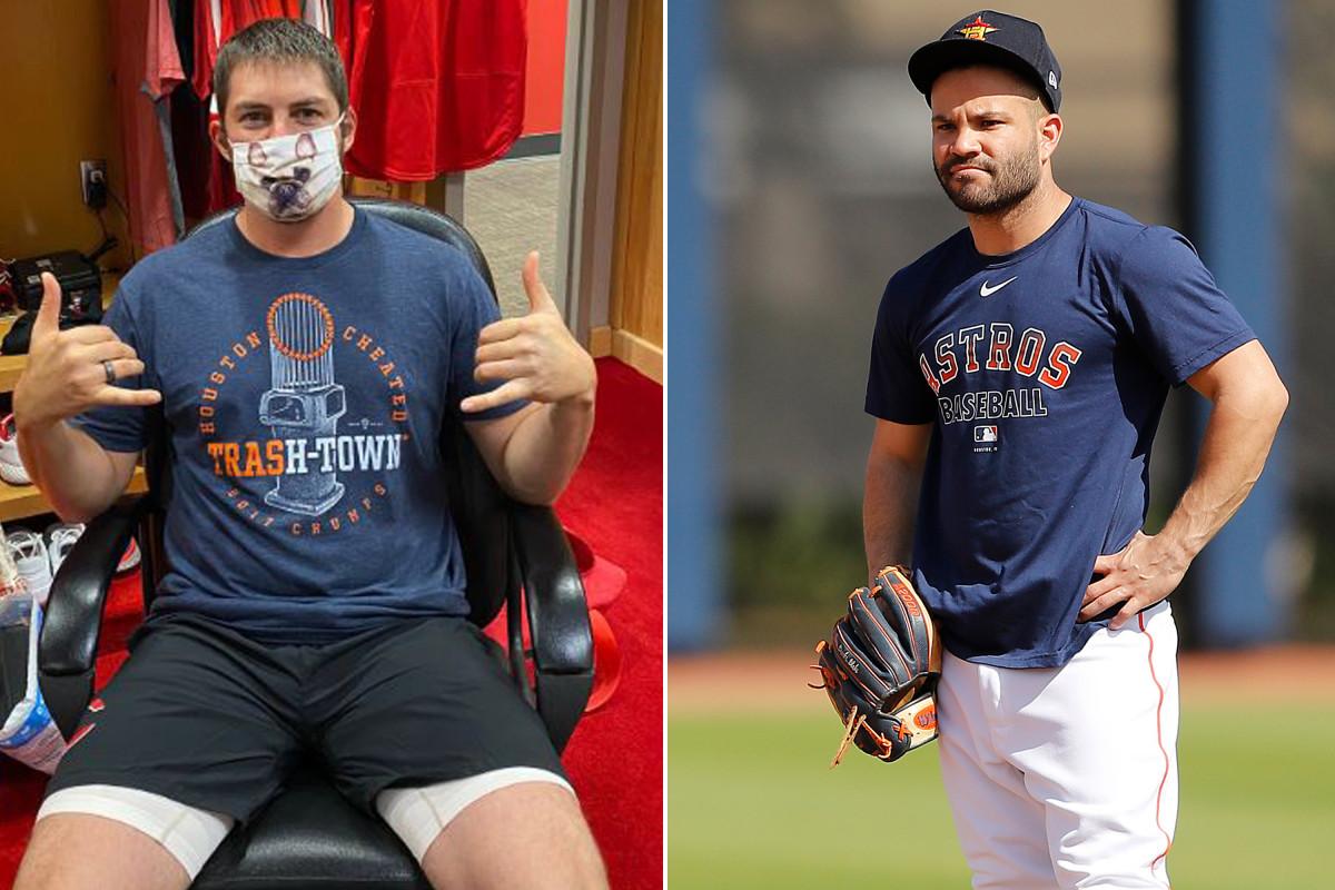 Trevor Bauer von MLB erinnert alle daran, dass der Astros betrogen hat