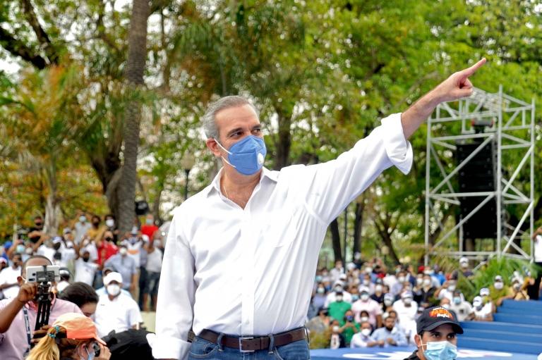 Präsidentschaftskandidat der Dominikanischen Opposition für die Modern Revolutionary Party (PRM) Luis Abinader