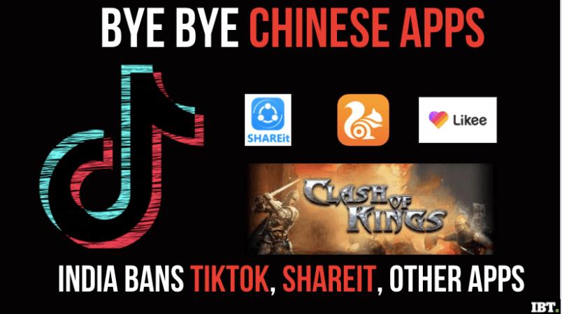Chinesische Apps in Indien verboten