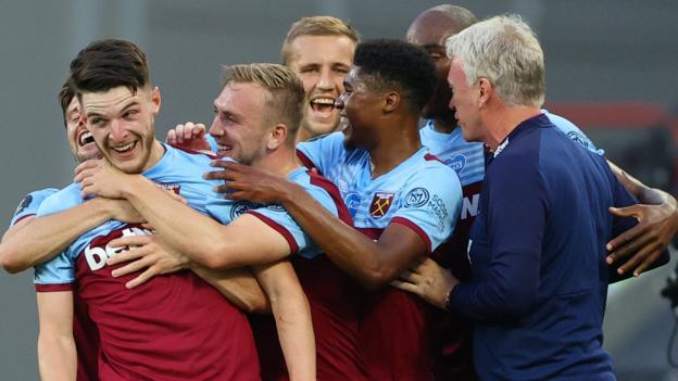 West Ham United 3-1 Watford: Antonio, Soucek und Rice treffen
