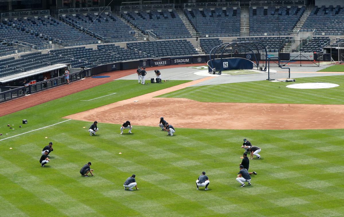 Wie Yankees versuchen, den Lärm zu bringen