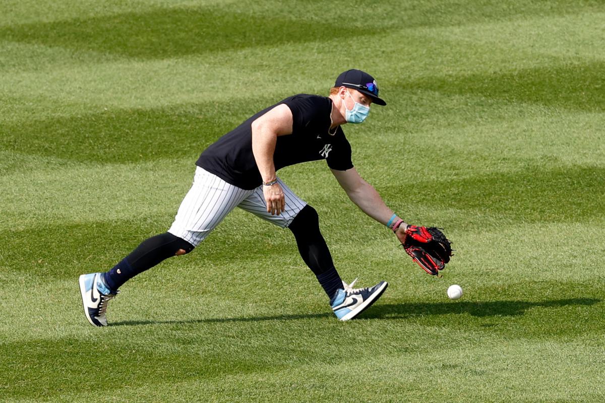 Yankees 'Clint Frazier unbeeindruckt von Kritikern seiner Maske