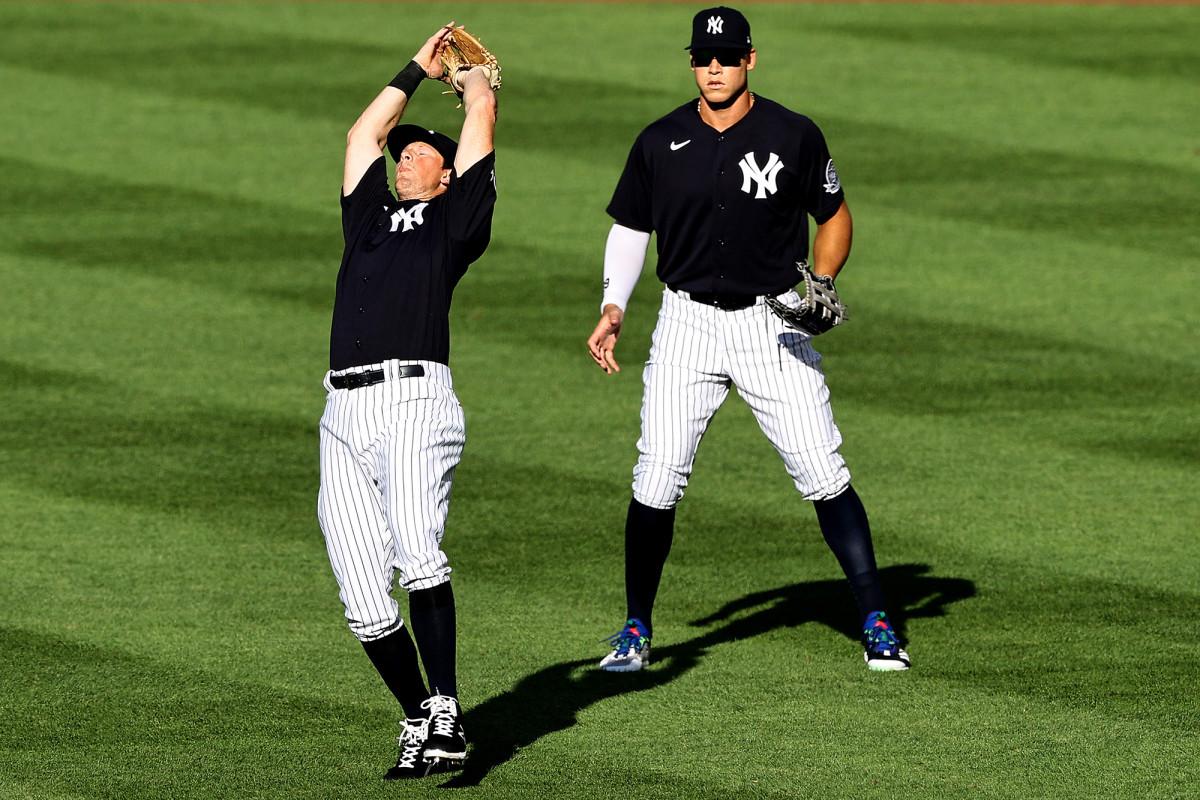 Yankees 'DJ LeMahieu, der den Eröffnungstag spielt, sieht plötzlich echt aus