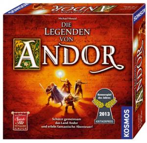 Kosmos 691745 - Die Legenden von Andor, Das Grundspiel, Kennerspiel des Jahres 2013