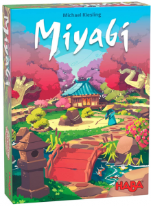 HABA 305248 - Miyabi, taktisches Legespiel für Spieler ab 8 Jahren, Familienspiel von dem erfolgreichen
