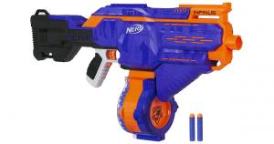 Hasbro Nerf E0438EU4 Nerf N-Strike Elite Infinus, voll-motorisierter Spielzeug-Blaster, mit Schnell-Lade-Technologie, für Kinder & Erwachsene