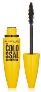 Maybelline The Colossal 100% Black Mascara, Schwarz, 10,7 ml