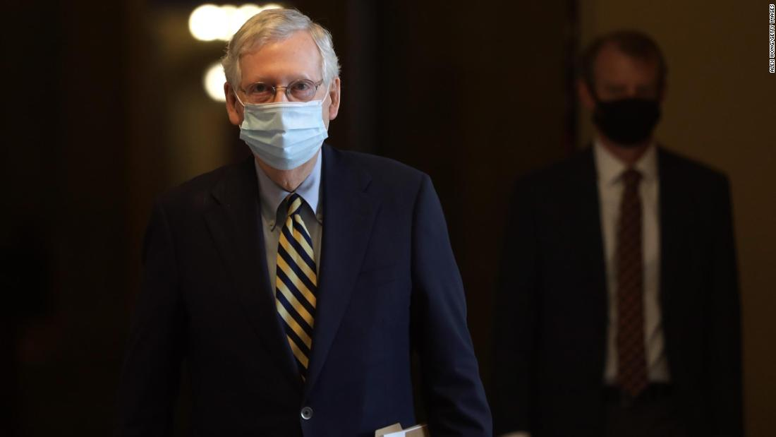 McConnell-Signal an Kandidaten des republikanischen Senats: Abstand zu Trump, falls erforderlich