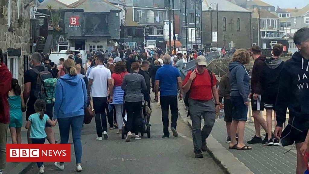 """Coronavirus: Die Einheimischen in Cornwall haben """"zu viel Angst"""", um einkaufen zu gehen"""