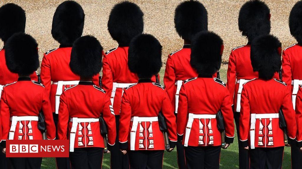 Coldstream-Wachen untersuchten den Kampf mit königlichen Lakaien