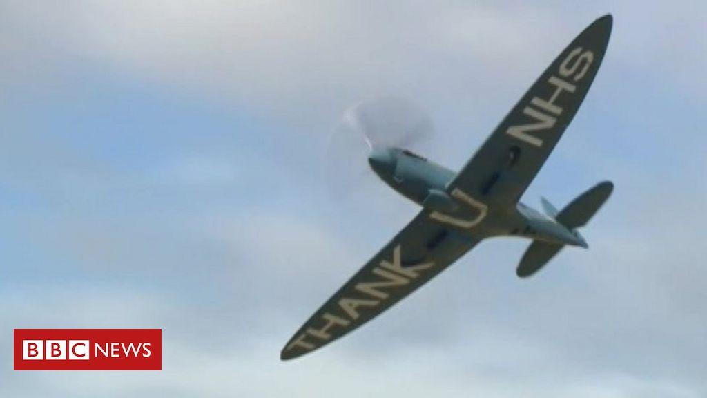 NHS Spitfire bereist Krankenhäuser südlich von England