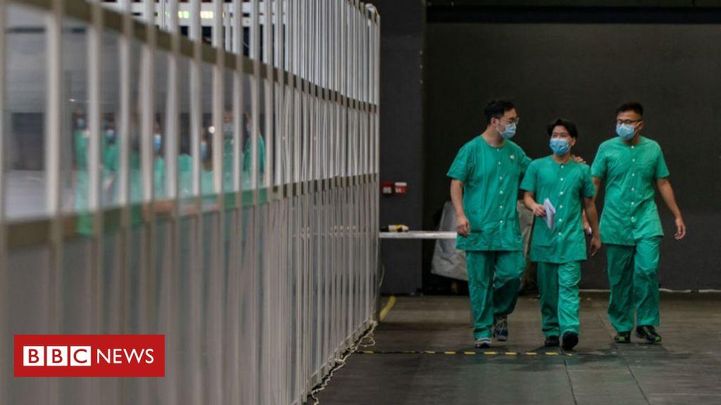 China schickt das erste medizinische Testteam von Covid-19 nach Hongkong