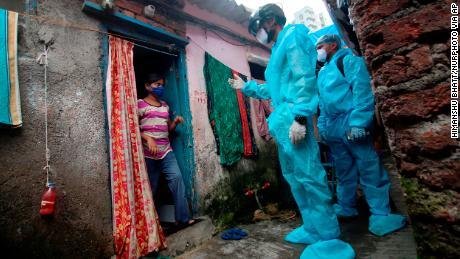 Mehr als die Hälfte der indischen Slumbewohner in Mumbai ist möglicherweise mit Covid-19 infiziert, so die Studie