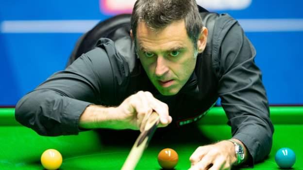 Snooker-Weltmeisterschaft 2020: Ronnie O'Sullivan stellt in der ersten Runde einen Rekord auf