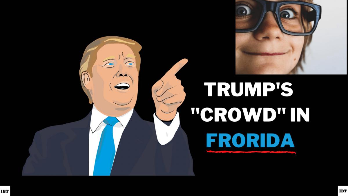 Trump discovers Frorida.