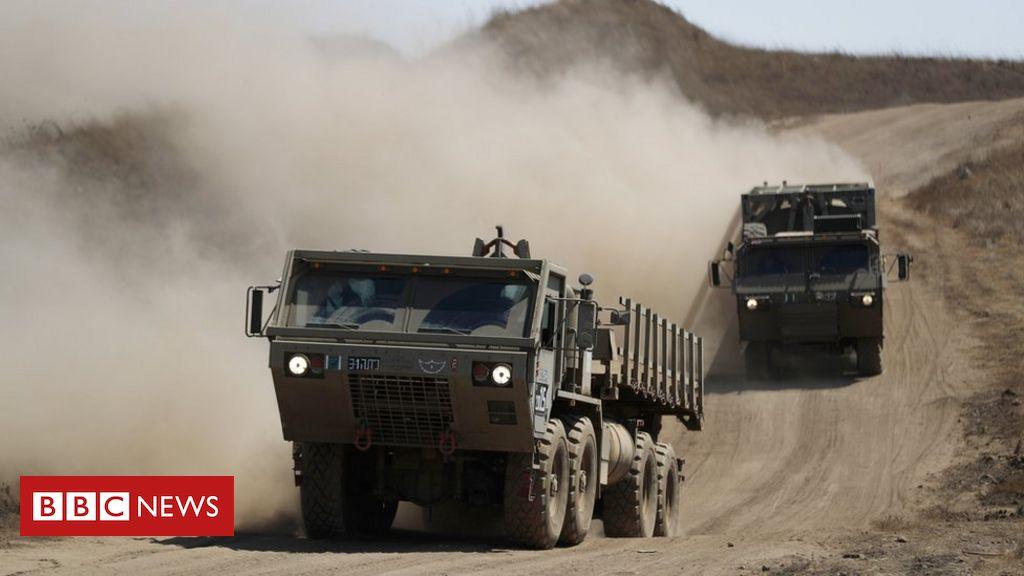 Israel schlägt syrische Militärbasen nach dem Angriff auf Golanhöhen an