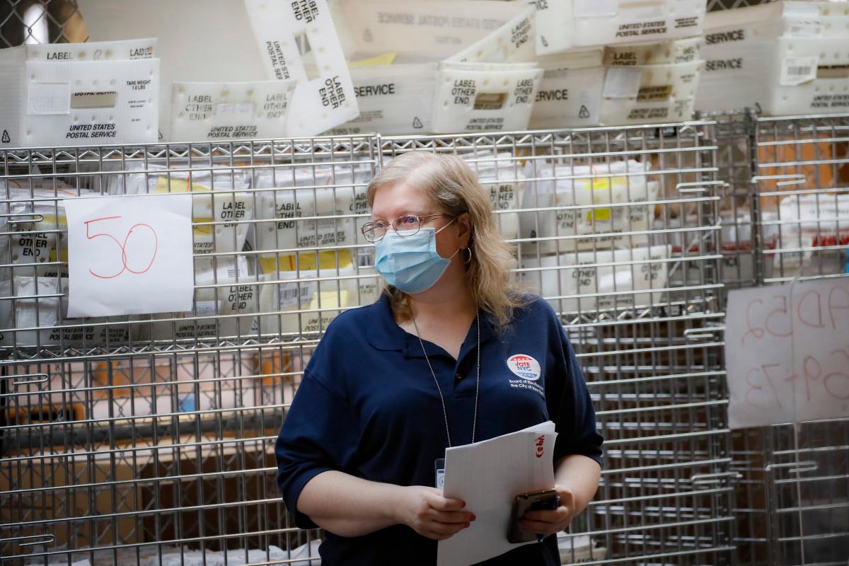 Der Richter befiehlt dem Staat New York, ungültige Stimmzettel zu zählen