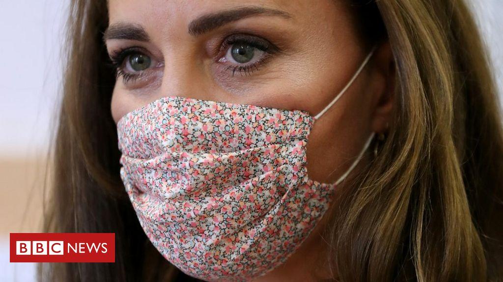 Coronavirus: Kate trägt zum ersten Mal eine Maske bei einem Wohltätigkeitsbesuch