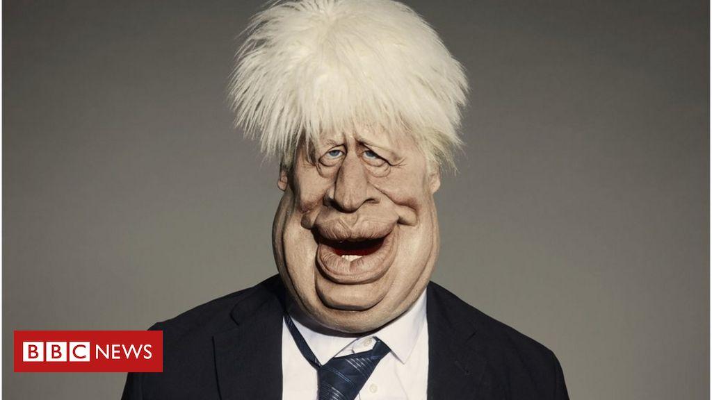 Boris Johnson: Spitting Image Puppe vor dem Relaunch enthüllt