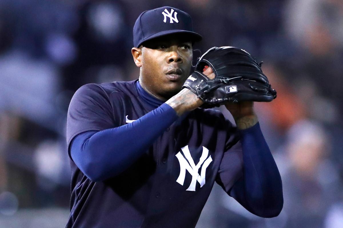 Yankees machen es mit Aroldis Chapman langsam