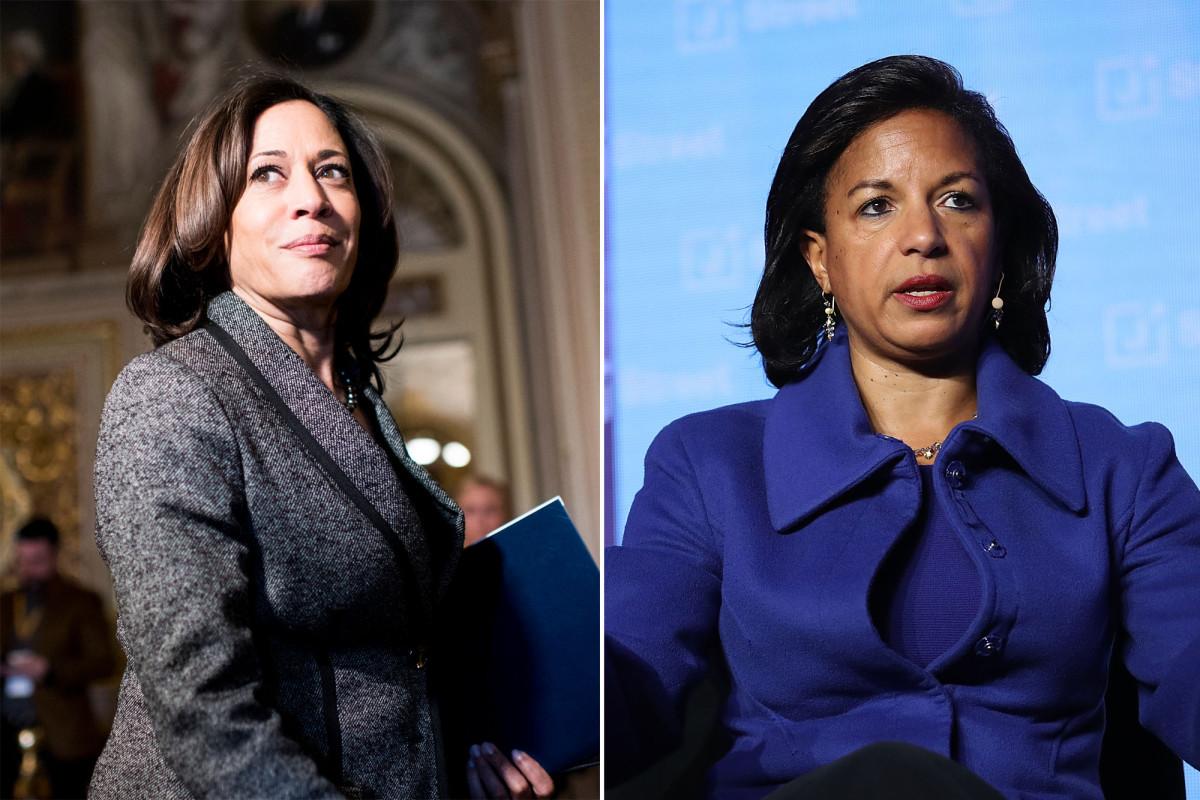 Die Suche nach Biden VP beschränkt sich auf Kamala Harris und Susan Rice: Bericht