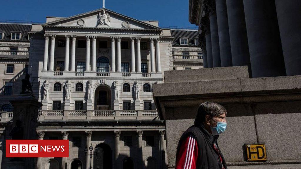 Bank of England: Abschwung weniger gravierend als befürchtet