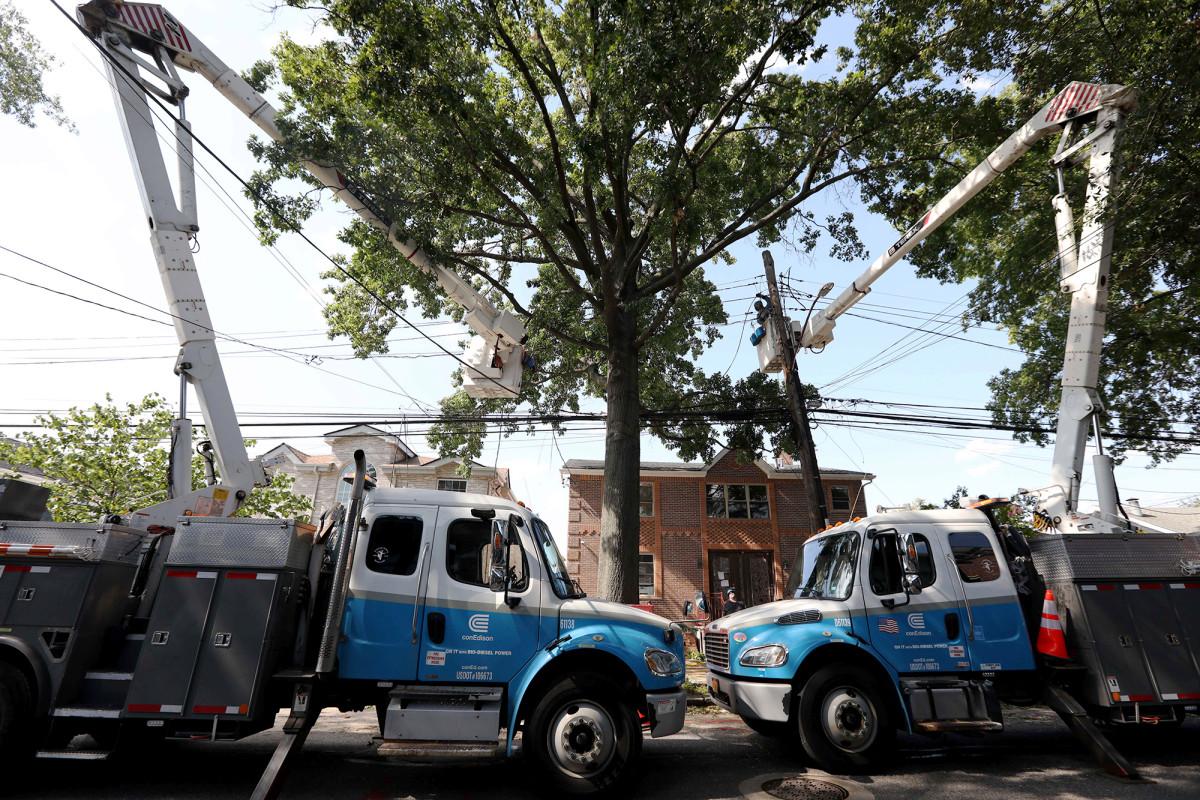 Hunderttausende in NY immer noch ohne Strom nach Jesaja