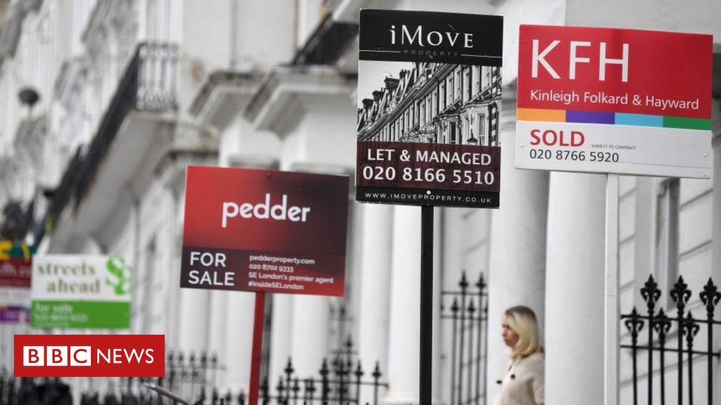 Der Mini-Boom beim Hauskauf führt zu dem höchsten monatlichen Preis aller Zeiten