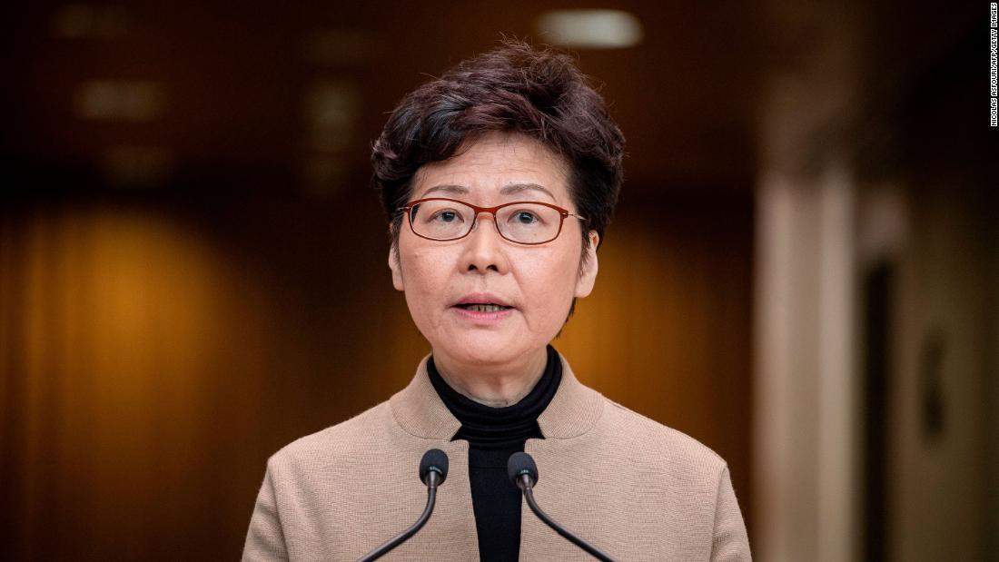 Carrie Lam: Die USA sanktionieren den Generaldirektor von Hongkong wegen demokratischer Razzien