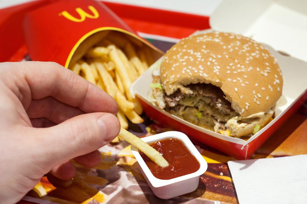 Fast-Food-Verpackungen bei McDonald's, Burger King können giftig sein