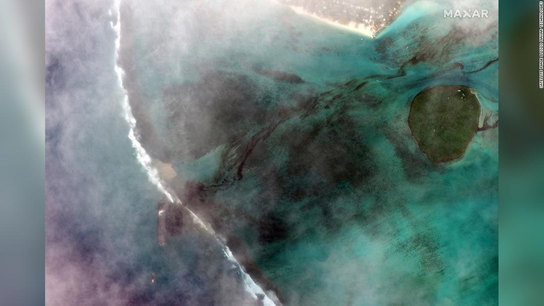 Mauritius erklärt Umweltnotstand, da bei einem Schiffbruch Tonnen Diesel und Öl ins Meer gelangen