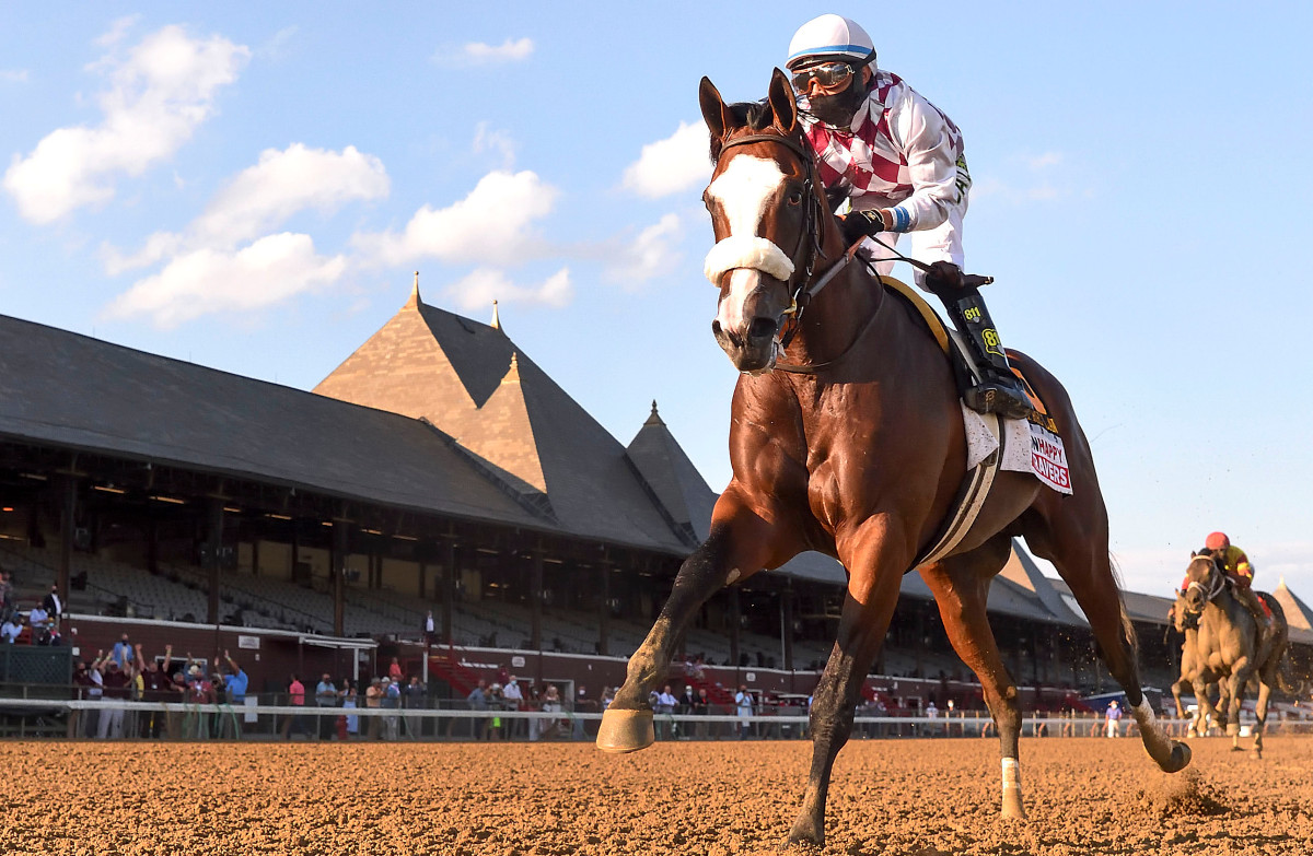Belmont-Champion Tiz the Law fährt in Travers zum Sieg