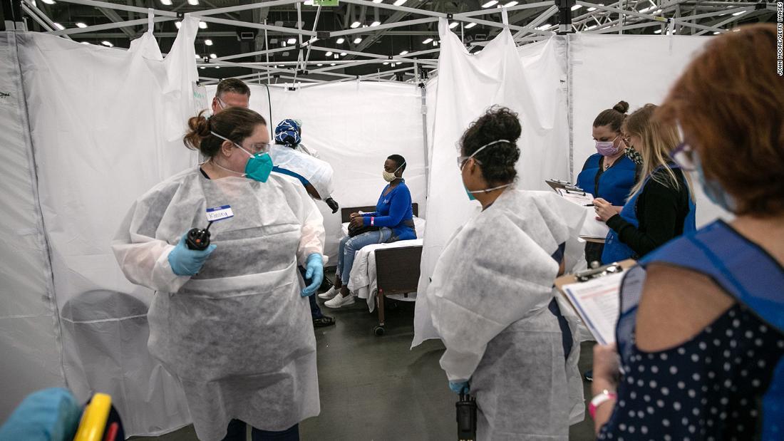 US-Coronavirus: Fünf Bundesstaaten machen mehr als 40% der fast 5 Millionen Covid-19-Fälle des Landes aus