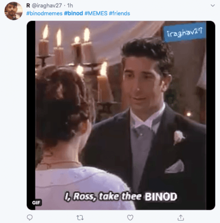 Binod Meme
