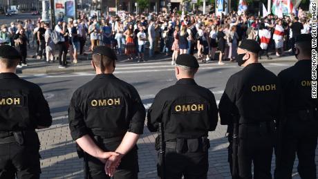 Das US-Außenministerium äußert sich besorgt über das Vorgehen gegen den letzten europäischen Diktator in Europa.
