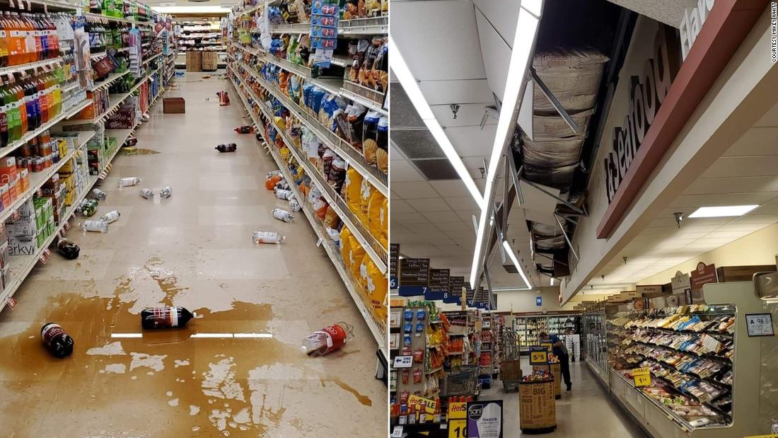Erdbeben in North Carolina mit einer Stärke von 5,1 nördlich von Charlotte an der Grenze zu Virginia