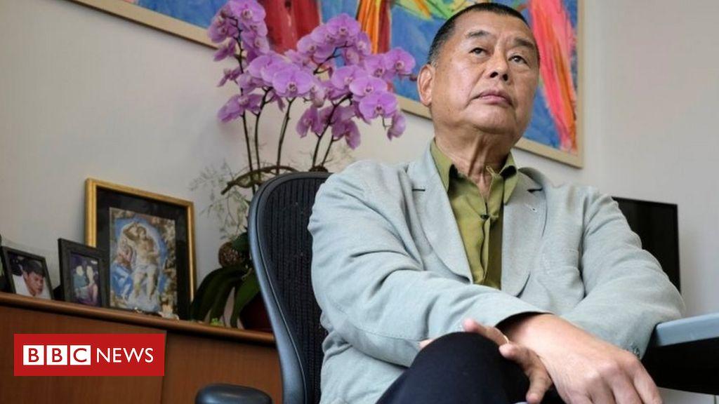 Der demokratiefreundliche Tycoon Jimmy Lai aus Hongkong wurde festgenommen