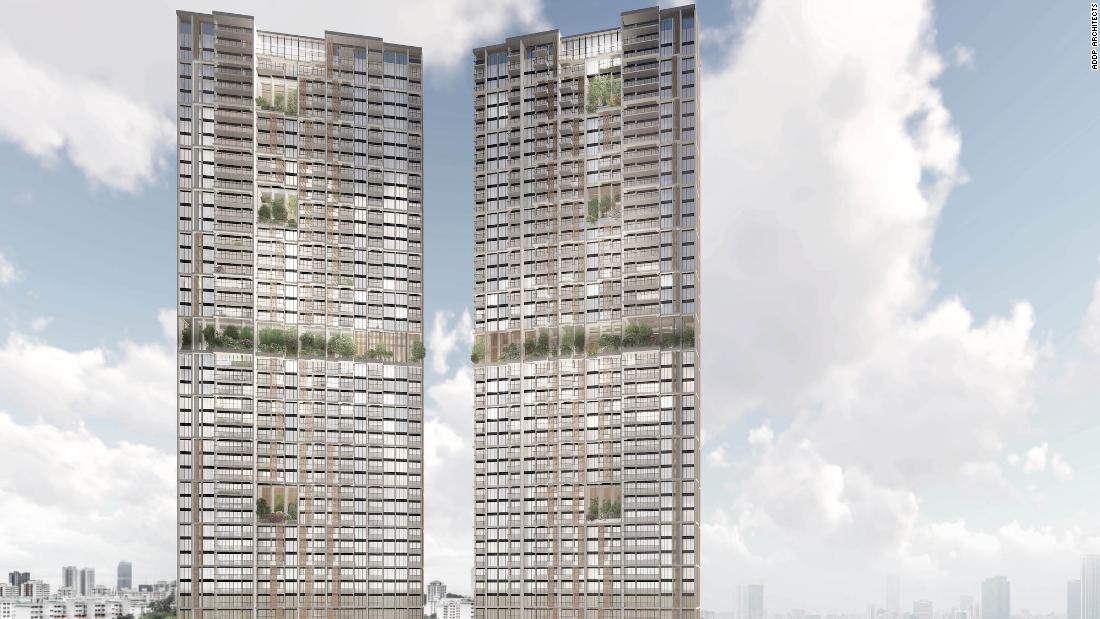 Die höchsten vorgefertigten Wolkenkratzer der Welt werden in Singapur entstehen