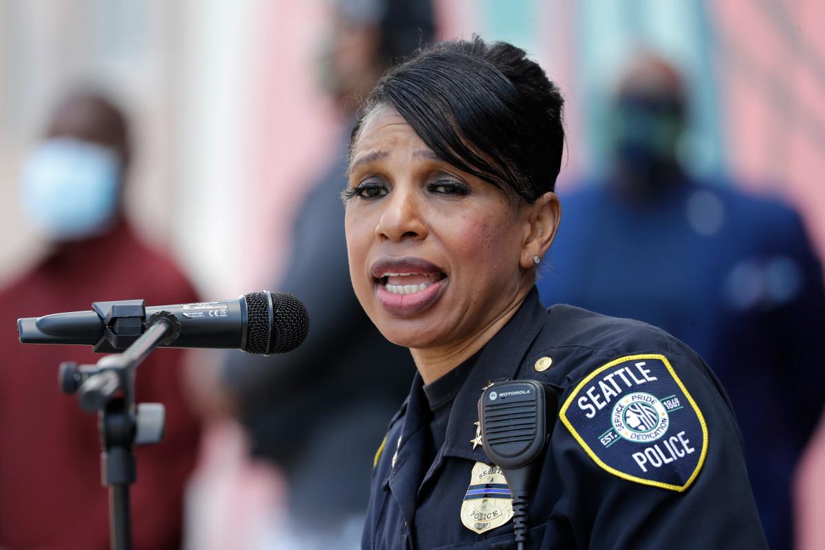 Der Polizeichef von Seattle tritt nach Kürzungen der Abteilung zurück