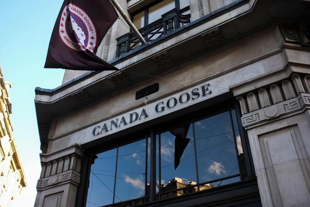 Canada Goose schneidet die Produktion ab, da Coronavirus den Umsatz erreicht