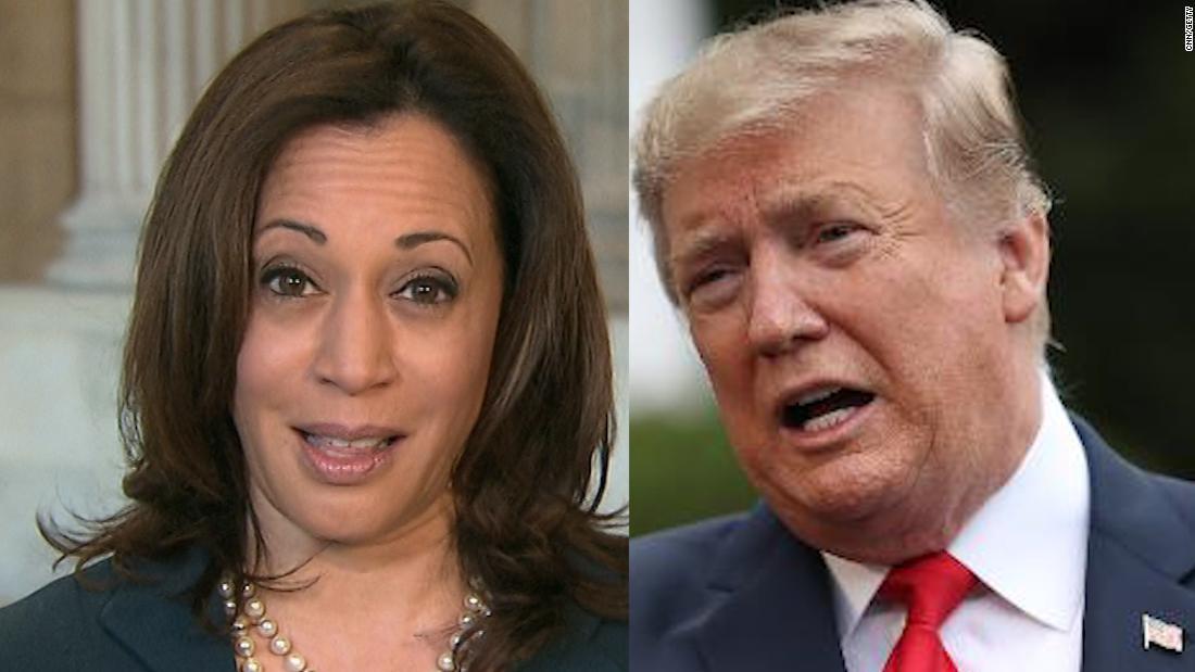 Trump kehrt zu Stereotypen zurück, während die Kampagne versucht, auf Harris 'Wahl zu reagieren
