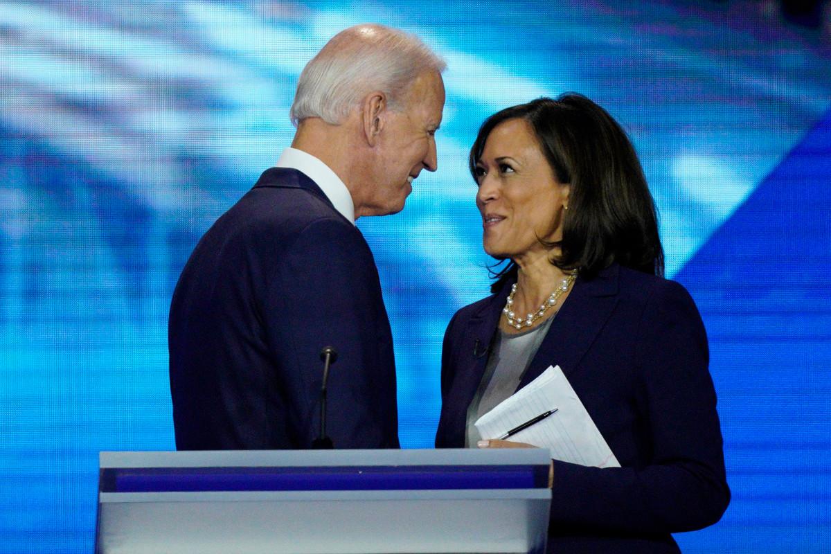 Biden-Harris Democratic Ticket fehlt historisch Ivy League grad