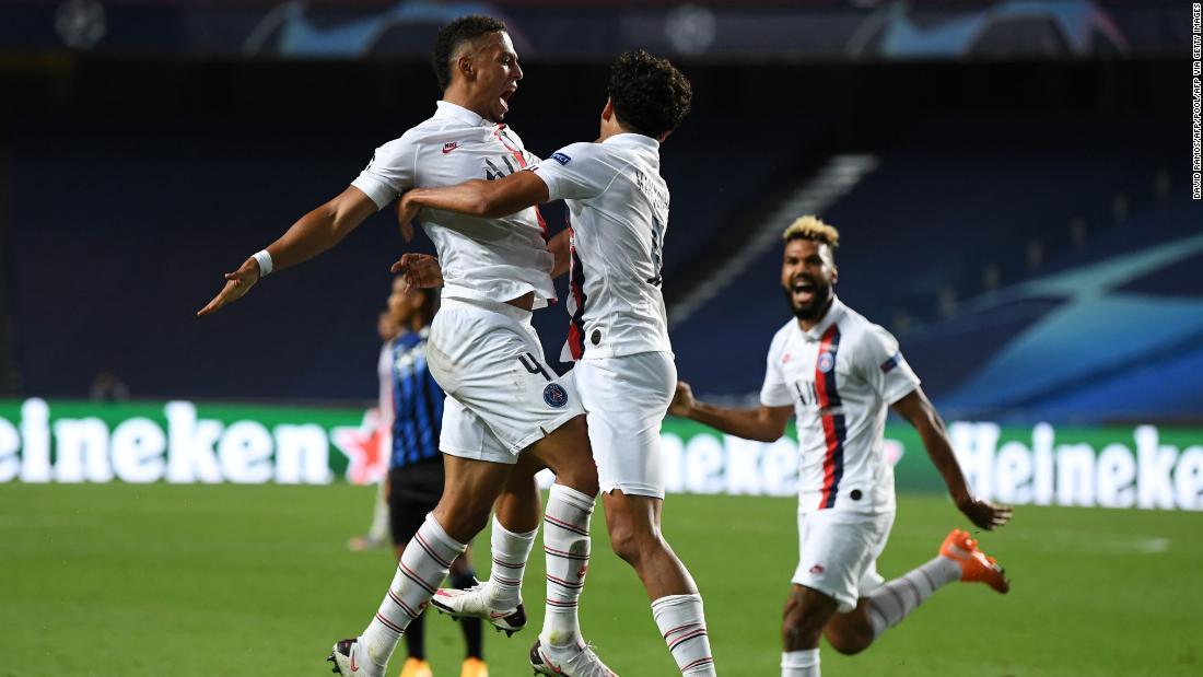 PSG feiert ein atemberaubendes Comeback, um Atalanta aus der Champions League zu werfen