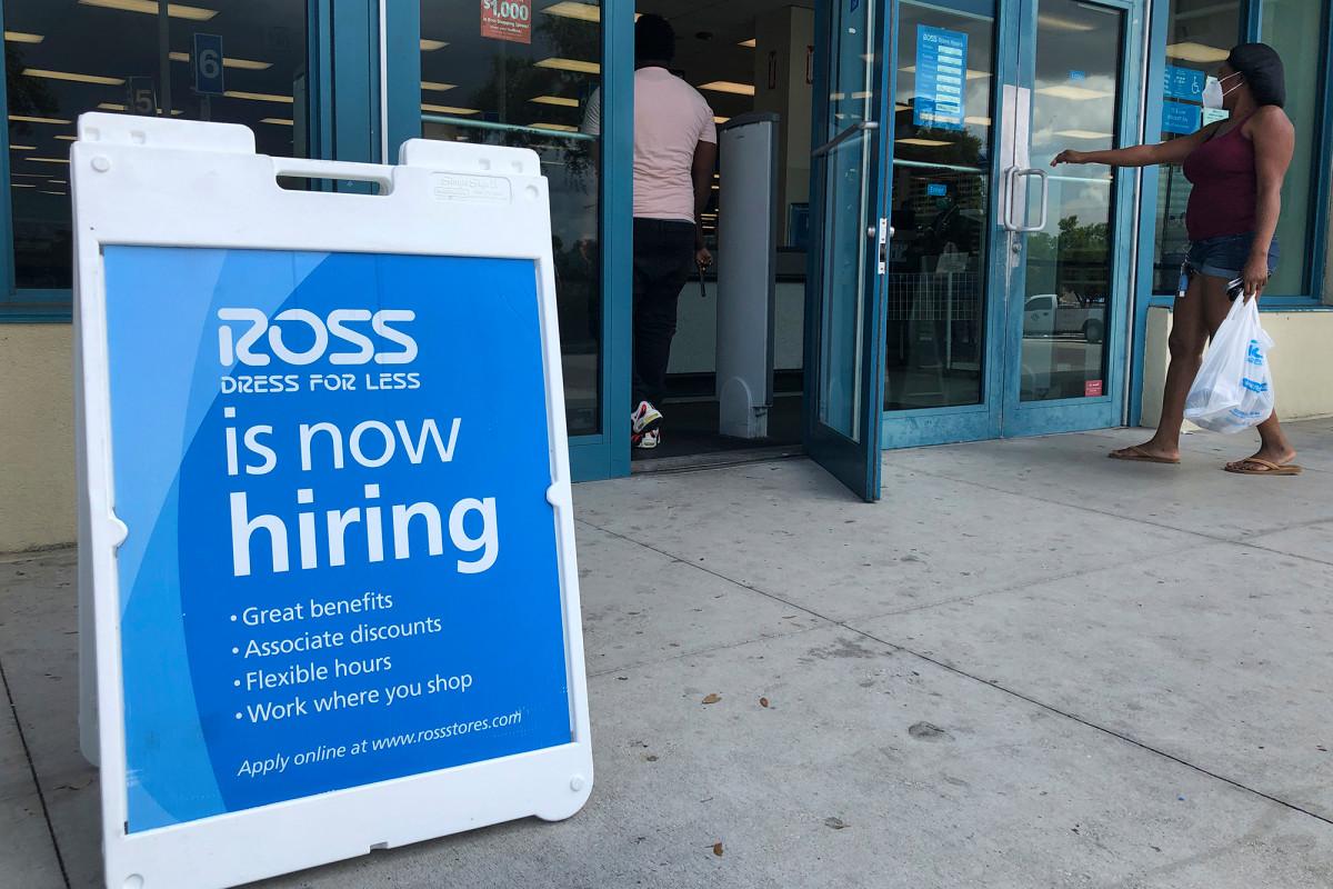 US-Arbeiter reichen letzte Woche 963.000 Ansprüche ein