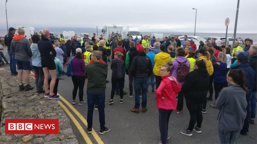 Galway Paddleboarder wurden nach 15 Stunden im Meer gerettet
